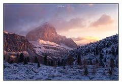 Dolomites Sunrise (shaunyoung365) Tags: italy dolomites landscape sunrise sonya7rii snow mountain mountains