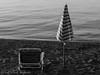 L'estate sta finendo... (frillicca) Tags: 2017 agosto august beach bolsenalake lago lagodibolsena lake lakefront ombrellone panasoniclumixlx100 sabbia sand sdraio seat sedia spiaggia tuscia umbrella water