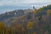 Autumn in montains (pasiak75) Tags: 2017 jugowice zagórześląskie zamekgrodno autumn color fall góry jesień kolor krajobraz landscape manuallens mountains yellow zamki żółty pentacon 13518