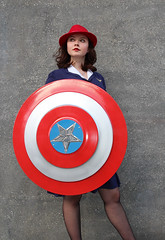 MCM London 2017 Sunday XII (Lee Nichols) Tags: mcmlondon2017sunday mcmcomiccon costume canoneos600d cosplay cosplayers costumes comiccon photoshop people mcmldn2017 londonexcel peggycarter captainamerica