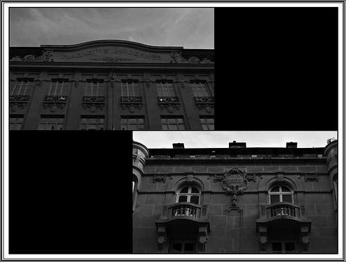 3 - Reims - Rue de Vesle - Façade, Détails