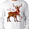 The Donner Party (sherwoodscot) Tags: thedonnerparty christmas tshirt funny funnytshirt reindeer rudolph dark cannibal xmas parody graphicdesign holiday santa redbubble scottsherwood flickr horror cannibalism rudolphtherednosereindeer blood christmastshirt christmasparty party deer donner
