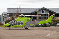 G-PICU Agusta Westland AW169 (Gary J Morris) Tags: glo egbj staverton gloucester airport gpicu agusta westland aw169 childrens air ambulance specialist aviation services ltd gloucestershire 09112017 sas helicopter