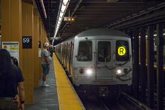 R Train (conrail6809) Tags: subway new york nyc mta r train upper east side