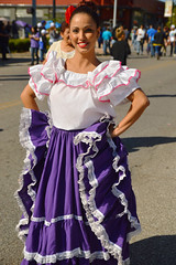Dressed for the fiesta (radargeek) Tags: 2016 fiestasdelasamericas oklahomacity oklahoma capitolhill dress dancer traditional