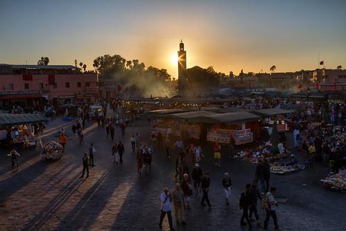Djeema el Fna - Marrakesch