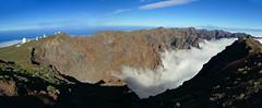Los Muchachos - Caldeira - La Palma - 2426 m (Démocrite, atomiste dérouté) Tags: lapalma caldeira canaries volcanisme astrophysique merdenuage espagne iles archipel atlantique