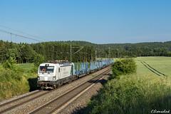 Siemens 193 844 bei Krappenhofen (TheKnaeggebrot) Tags: siemens verton 193 193844 x4e setg holzzug güterzug krappenhofen kbs880 zug train eisenbahn