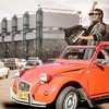 French Synth-Pop Parking Lot (Flamenco Sun) Tags: 1980's eighties pop french france 80's synthesiser synth 2cv