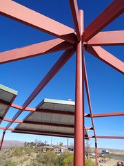 Sunset Point (twm1340) Tags: sunset point rest area highway interstate awning sun shade canopy cover picnic