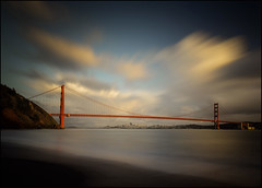 The Gate (PrevailingConditions) Tags: bayarea goldengatebridge sanfrancisco longexposure ocean water clouds landscape