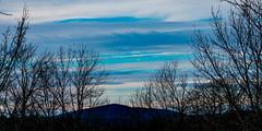 Gap mountain sunset (cjlarsen17) Tags: blue sunset