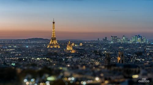 Paris vu du Pantheon