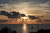 Sunset and calm sea (gabrielazzopardi) Tags: sony a6000 sel55210 seascape malta sunset