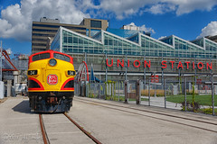 Classic KCS Power in Kansas City (mndrummer74) Tags: kansas city station emd depot union trtacks locomotive f unit
