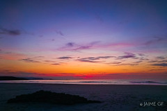 Xagó (Jaime GF) Tags: dusk anochecer beach playa sea mar coast costa xagó gozón asturias spain smartphone móvil