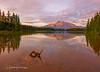 Two Jack Lake and Stump (HikingJoe-Gone too long) Tags: twojacklake canada canadianrockies banffnationalpark lake mountainlake rundlemountain mountain landscape reflection clouds sky sunrise