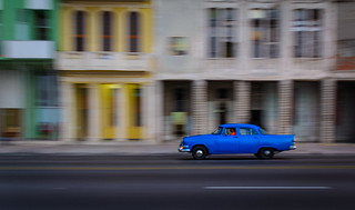 Midnight Blue, Havana, Cuba_