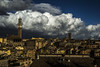 Siena in the clouds (doni-) Tags: siena nuvole clouds sky tuscany toscana italy italia