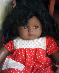Black Doll (Wolfgang Bazer) Tags: black doll litschau waldviertel lower austria niederösterreich österreich racism rassismus