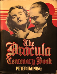 The Dracula Centenary Book (jovike) Tags: book cover horror reference vampire literature nonfiction hardback