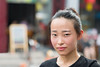 A chinese woman in Pingyao, Shanxi, China (leonardrodriguez) Tags: portrait people bokeh beautifulwoman femme donna face ritratto satisfaction content 中华人民共和国 cinese chinois chinoise 平遙 china shanxi cina chine pingyao ancientcityofpingyao