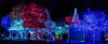 deacon dave's 34th annual holiday lights display (pbo31) Tags: livermore california eastbay alamedacounty december 2017 black color nikon d810 boury pbo31 bayarea dark holidays christmas lights tree season deacondaves yard neighborhood house panoramic large stitched panorama hillcrest avenue colorful