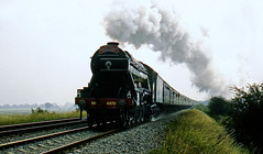 misty morn (midcheshireman) Tags: steam railway train pacific a3 4472 flyingscotsman northwalescoastexpress cheshire