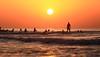 Surfing at sunset - Tel-Aviv beach (Lior. L) Tags: surfingatsunsettelavivbeach surfing sunset telaviv beach israel travel telavivbeach