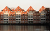 Houses (✦ Erdinc Ulas Photography ✦) Tags: lenstagger house water hoorn city sun sky tree stad nederland netherlands dutch holland lucht zon boom huis eend duck panasonic minolta baksteen brick window raam ngc