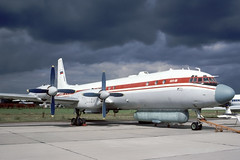 IL-18 (Rob Schleiffert) Tags: zhukovsky il18 research ilyushin ra75423