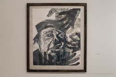 hoopsnake-4896 (olemiss_artdept) Tags: art department fine oxford tupelo ms mississippi universityofmississippi university gallery 130 meek hall campus paint painting print printmaking charcoal drawing portrait