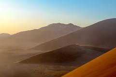 Sunrise in the Namib Desert (ch.gunkel) Tags: namib namibia afrika africa sand dunes sunrise sandstorm outdoor desert wüste sonnenaufgang morning