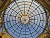 Galleria Vittorio Emanuele II # 4 (schreibtnix on 'n off) Tags: reisen travelling italien italy mailand milan galleriavittorioemanueleii architektur architecture glas glass licht light kuppel cupola strukturen structures olympuse5 schreibtnix