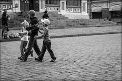 _dsc7454 (dmitryzhkov) Tags: russia moscow documentary street life human monochrome reportage social public urban city photojournalism streetphotography people bw conversation speak group bunch kid children motion movement walk walker pedestrian dmitryryzhkov blackandwhite talk publicplace everydaylife everyday candid stranger