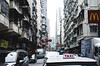 Streets of HK (kolja_wi) Tags: color colors red blue yellow dark black hongkong hk sony alpha a6000 samyang rokinon walimex street 35mm tourism travel