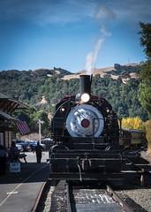 Clover Valley No 4_ (Charlie Day DaytimeStudios) Tags: california fall fallcolor fremontca nilecanyon nilesca nilescanyonrailroad nilesrailroad railequipment railsystems railroad railroadtracks sanfranciscobayarea trainengine