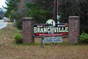 Entrance sign - Branchville, S.C. (DT's Photo Site - Anderson S.C.) Tags: canon 6d 24105mml lens branchvillesc south carolina small town country rural road farm land vanishing southern america usa
