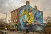 Mural (stevefge) Tags: 2017 cityofculture fishing hessleroad hull murals buildings houses pubs street candid women uk yorkshire eastyorkshire reflectyourworld