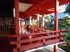 In the red temple (seikinsou) Tags: japan osaka autumn arashiyama daikakuji temple visit guide red verandah