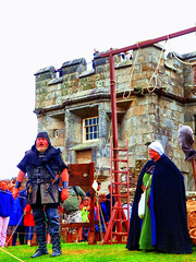 Excecutioner at Pendennis Castle, Falmouth, Cornwall (photphobia) Tags: falmouthharbour falmouth harbour cornwall town uk oldtown oldwivestale outdoor outside building buildings buildingarebeautiful architecture castle castillo pendenniscastle fortress fort henryviii charlesii