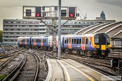 LondonWaterlooRailStation2017.10.31-49 (Robert Mann MA Photography) Tags: londonwaterloorailstation londonwaterloostation londonwaterloo waterloorailstation waterloostation waterloo lambeth londonboroughoflambeth london greaterlondon station trainstation trainstations railwaystation railstation railwaystations railstations railway railways architecture train trains city centre cities londoncitycentre 2017 tuesday autumn 31stoctober2017 networkrail networkrailwaterloo southwesttrains southwesternrailway class450 desiro class450desiro class444 class444desiro class707 desirocity class707desirocity class458 juniper class458juniper class455 class456 class159 southwesternturbo class159southwesternturbo