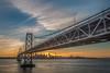San Francisco sunset (FollowingNature (Yao Liu)) Tags: ngc sanfrancisco sunset sunrays baybridge followingnature treasureisland