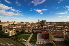 Cittadella (Padova) (paolotrapella) Tags: cittadella padova italia italy paese case cielo nuvole sky clouds country parts