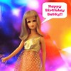 Happy Birthday Betty!!! (ModBarbieLover) Tags: francie doll mod fashion gold mesh 1968