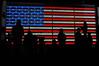 Star Spangled Banner (GLVF) Tags: usa etatsunis amérique drapeau flag starspangledbanner starsandstripes silhouettes contrejour light night nyc newyork city ville