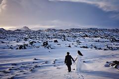 Karine & Wanson (LalliSig) Tags: pre wedding photographer people portrait portraiture snæfellsnes winter snow ice february