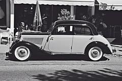 Mercedes Benz 200 W21 (Miguel Angel Prieto Ciudad) Tags: mercedes mercedesbenz car germany coche classic old vintage classiccar retro spain blackandwhite blancoynegro monochrome mirrorless madrid sony sonyalpha sonyalphadslr transport tourism