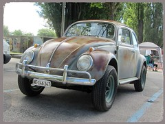 VW Beetle (v8dub) Tags: vw beetle volkswagen fusca maggiolino käfer kever bug bubbla cox coccinelle schweiz suisse switzerland neuchâtel german pkw voiture car wagen worldcars auto automobile automotive old oldtimer oldcar klassik classic collector
