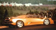 Diablo SE30 (polyneutron) Tags: photography lamborghini diablo orange supercar classics assettocorsa pc automotive photomode hdr dof bright